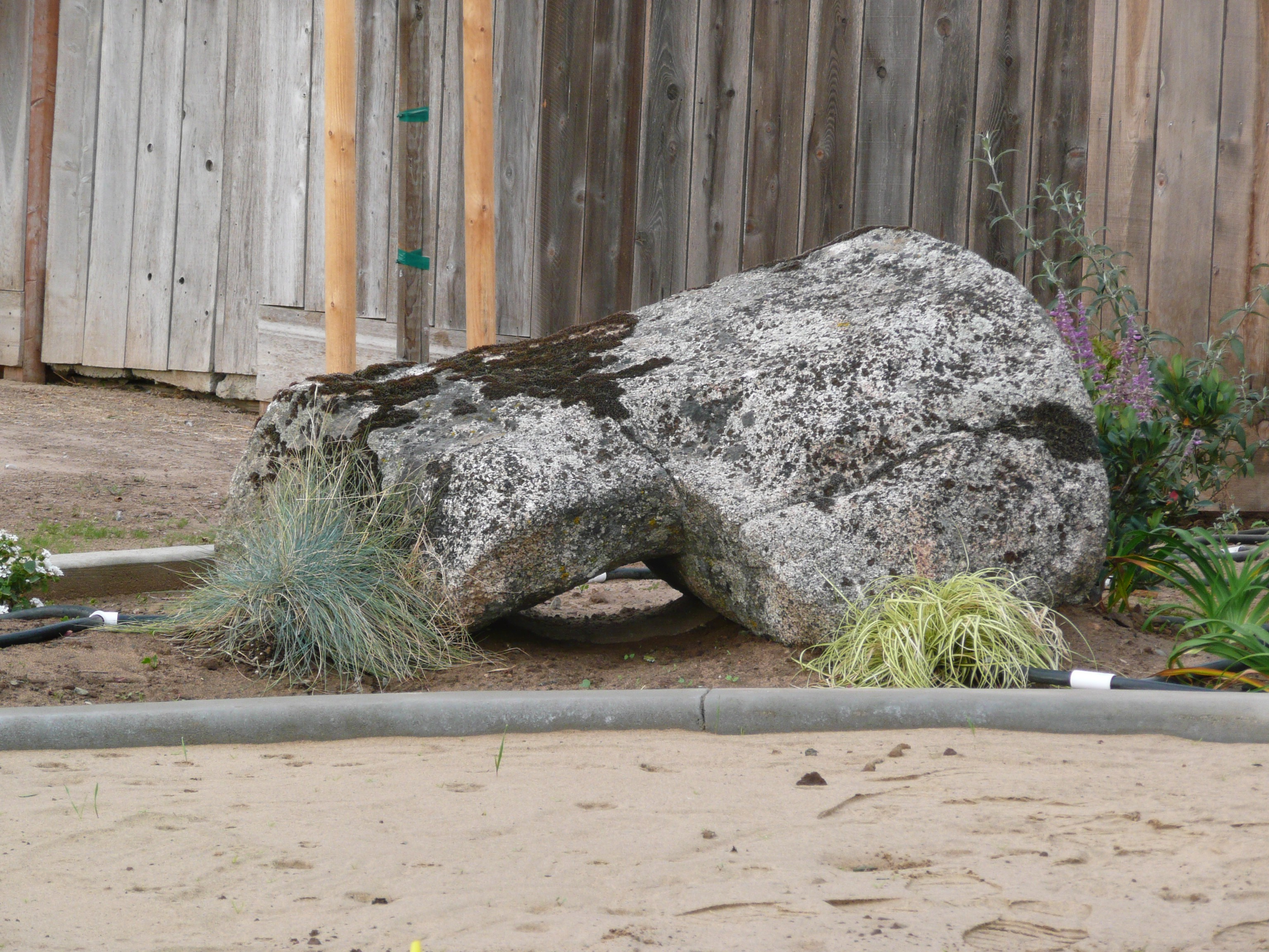 Boulders Are Used To Create Focal Points In The Landscape. Boulders Can Be  Used With A Combination Of Other Stones To Create Dry River Beds, Ponds, ...