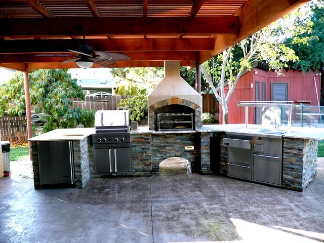 Outdoor Kitchens | Evergreen Landscape Service, Landscape Contractor ...